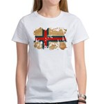 Faroe Islands Flag Women's T-Shirt