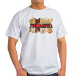 Faroe Islands Flag Light T-Shirt