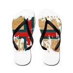Faroe Islands Flag Flip Flops