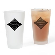 Grandmothers Kick Ass Drinking Glass