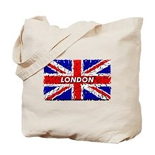 Awesome British Flag Tote Bag
