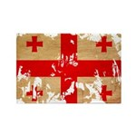 Georgia Flag Rectangle Magnet (10 pack)