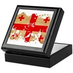 Georgia Flag Keepsake Box