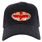 Georgia Flag Black Cap