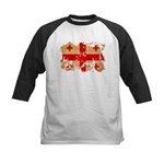 Georgia Flag Kids Baseball Jersey