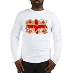 Georgia Flag Long Sleeve T-Shirt
