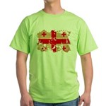 Georgia Flag Green T-Shirt