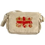 Georgia Flag Messenger Bag