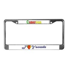 Cameroon Goodies License Plate Frame
