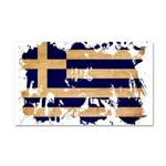 Greece Flag Car Magnet 20 x 12