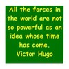 victor hugo quote Tile Coaster