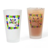 Puzzle Frame Autism Aware Drinking Glass