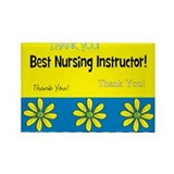 Nursing School Rectangle Magnet