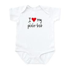 I LOVE MY Pixie-Bob Infant Bodysuit