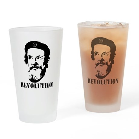 Galileo Revolution Drinking Glass