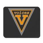 Voices Shield Mousepad