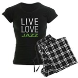 Live Love Jazz pajamas
