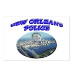 NOPD Badge in the Sky Postcards (Package of 8)