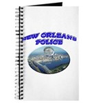 NOPD Badge in the Sky Journal