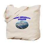 NOPD Badge in the Sky Tote Bag