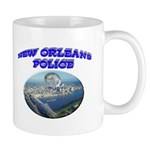 NOPD Badge in the Sky Mug