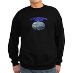 NOPD Badge in the Sky Sweatshirt (dark)