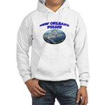 NOPD Badge in the Sky Hooded Sweatshirt