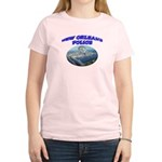 NOPD Badge in the Sky Women's Light T-Shirt