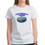 NOPD Badge in the Sky Women's T-Shirt