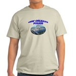 NOPD Badge in the Sky Light T-Shirt