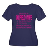 Advice from an Oilfield Wife Women's Plus Size Sco