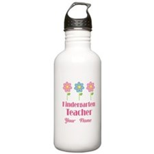 I Love Kindergarten Water Bottle
