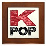 KPOP Artists Framed Tile