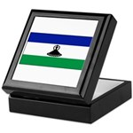 New Lesotho Flag Blank Keepsake Box