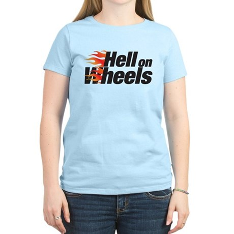 hell on wheels Women's Light T-Shirt