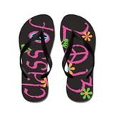 Funky PINK Class of 2013 Flip Flops