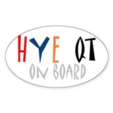 HYE QT on board (Sticker)