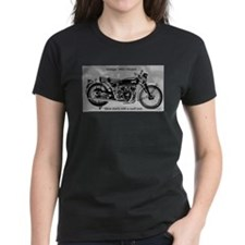 Cute Vincent motorcycle Tee