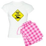 Baby On Board Women's Light Pajamas