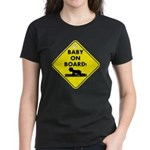 Baby On Board Women's Dark T-Shirt