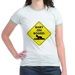 Baby On Board Jr. Ringer T-Shirt