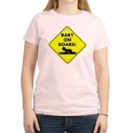 Baby On Board Women's Light T-Shirt
