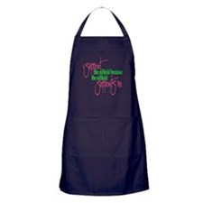 I support...Supports Me Apron (dark)