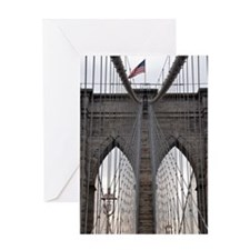 Brooklyn Bridge: No.6 Greeting Card