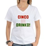 Cinco De Mayo Women's V-Neck T-Shirt