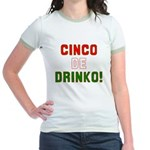Cinco De Mayo Jr. Ringer T-Shirt