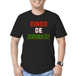 Cinco De Mayo Men's Fitted T-Shirt (dark)