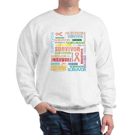 Uterine Cancer Survivor Sweatshirt