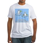 Shake A Tail Feather Fitted T-Shirt