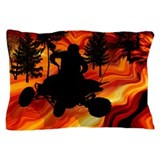 ATV on the Road From Hell Pillow Case